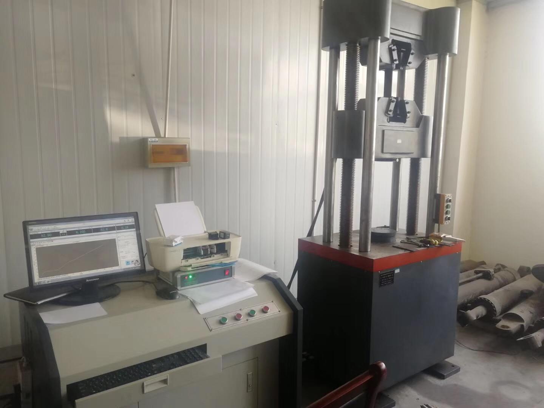 南钢合作企业100吨电液伺服万能试验机验收培训圆满结束!